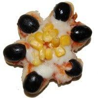 פיצה בצורת פרח