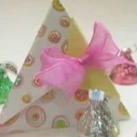 יצירה לפסח - מתנות בתוך פירמידות