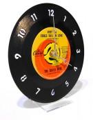 שעון בצורת תקליט