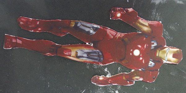 איירון מן (הנוקדמים) מבצק סוכר